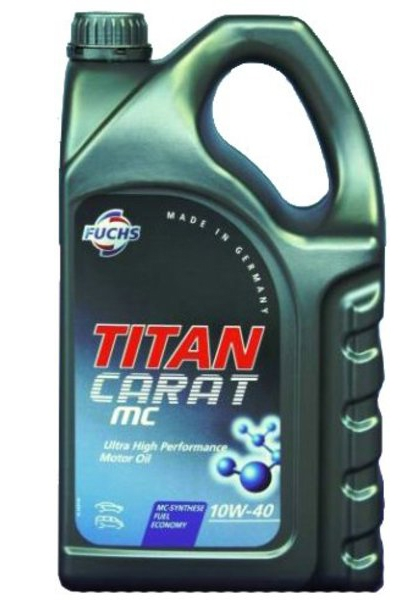 Моторное масло Fuchs Titan SYN MC (Carat) 10W-40 5л