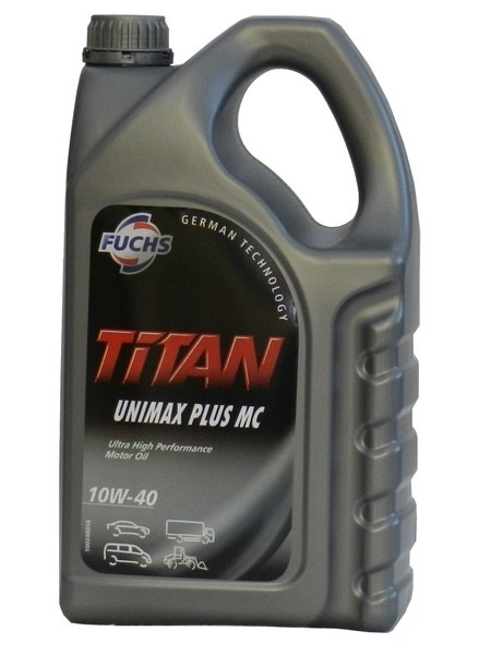 Моторное масло Fuchs Titan UNIMAX Plus MC 10W-40 5л