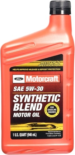 Моторное масло Ford Motorcraft Premium Synthetic Blend 5W-30 0.946л