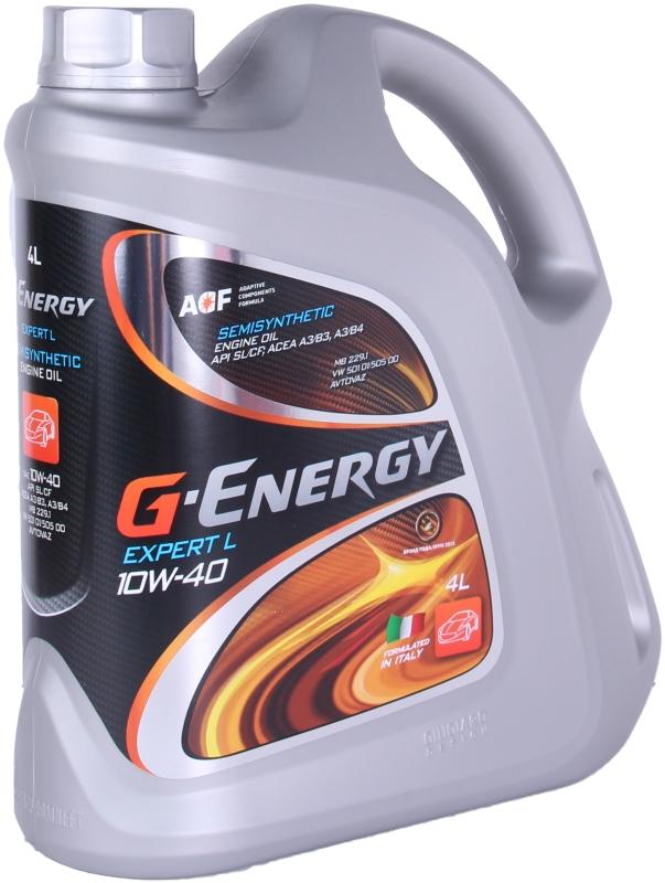 Моторное масло G-Energy Expert L 10W-40 4л