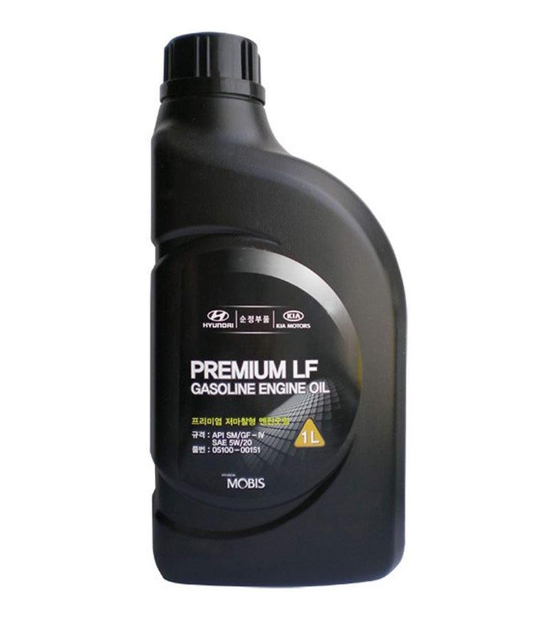 Моторное масло Hyundai/KIA Premium LF Gasoline SM/GF-4 5W-20 1л