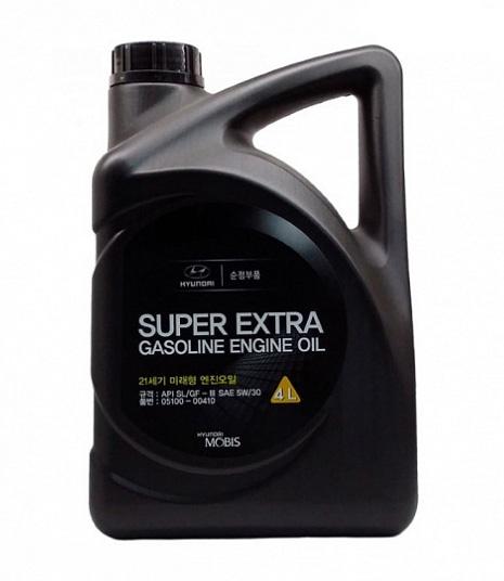 Моторное масло Hyundai/KIA Super Extra Gasoline SL/GF-3 5W-30 4л