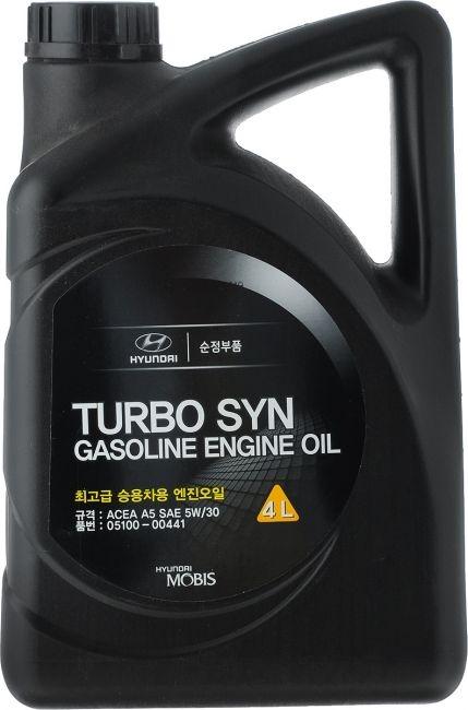 Моторное масло Hyundai/KIA Turbo Syn SM/GF-4 5W-30 4л