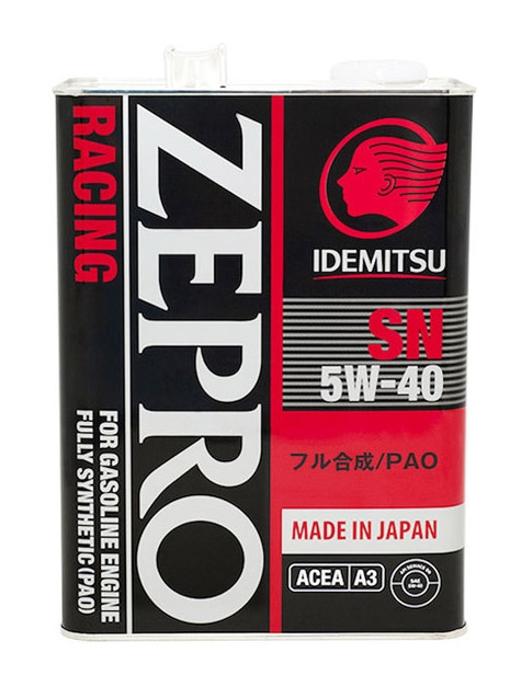Моторное масло Idemitsu Zepro Racing 5W-40 4л