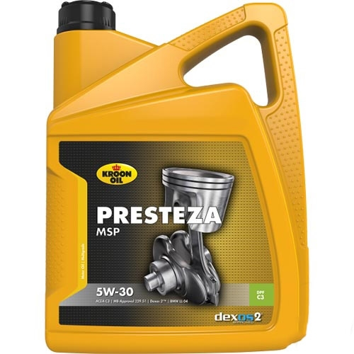 Моторное масло Kroon Oil Presteza MSP 5W-30 5л