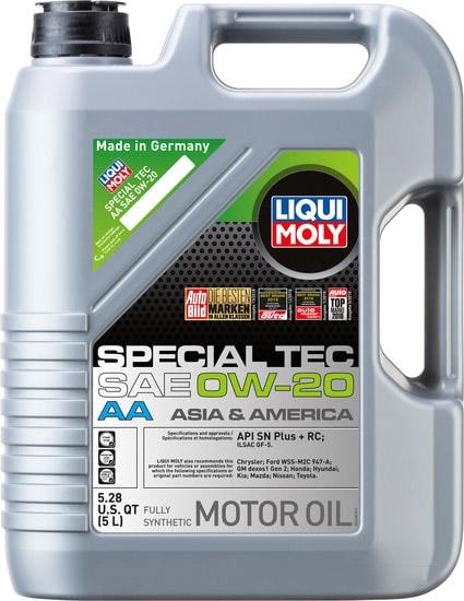 Моторное масло Liqui Moly Special Tec AA 0W-20 5л