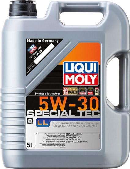 Моторное масло Liqui Moly Special Tec LL 5W-30 5л