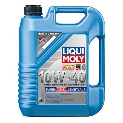 Моторное масло Liqui Moly Super Diesel Leichtlauf 10W-40 5л