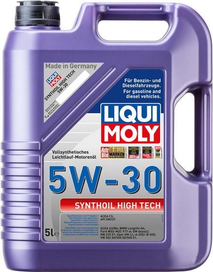 Моторное масло Liqui Moly Synthoil High Tech 5W-30 5л