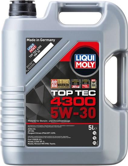 Моторное масло Liqui Moly Top Tec 4300 5W-30 5л