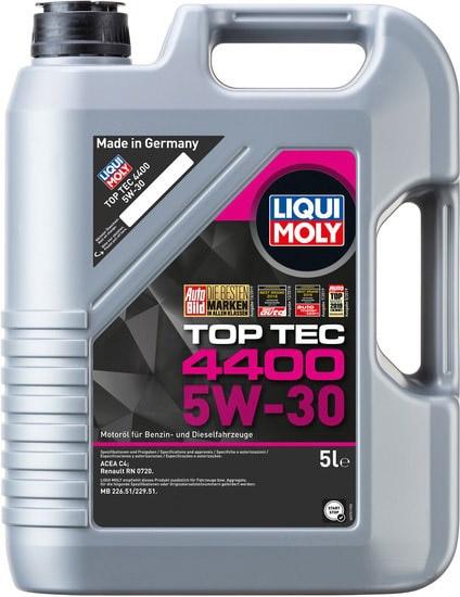 Моторное масло Liqui Moly Top Tec 4400 5W-30 5л