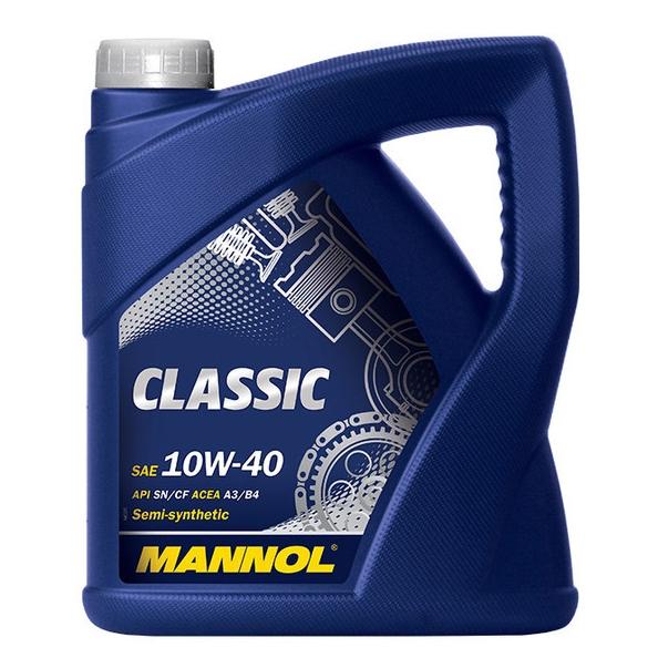 Моторное масло Mannol CLASSIC 10W-40 4л