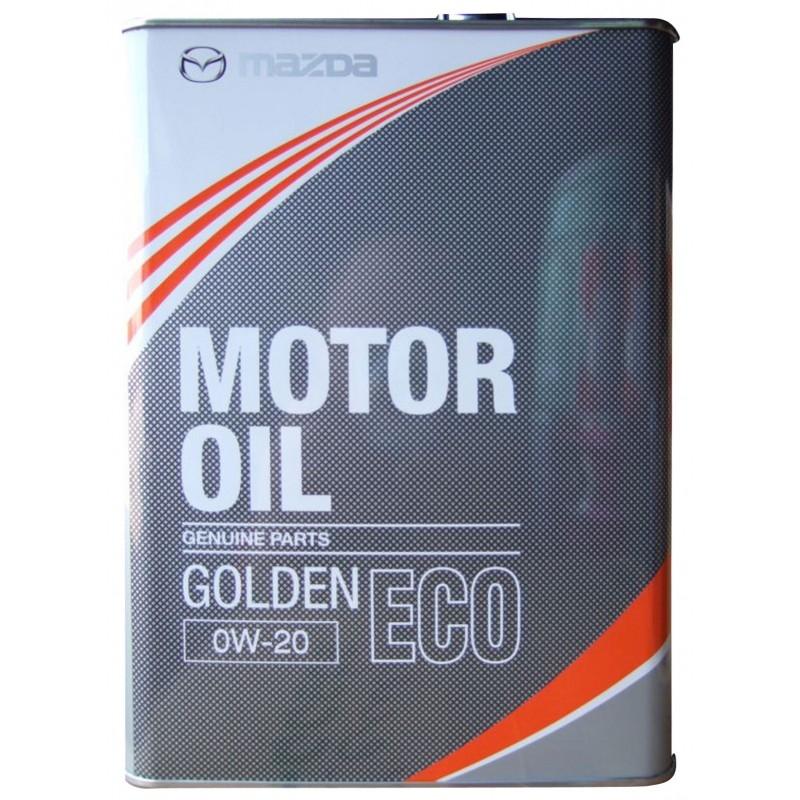 Моторное масло Mazda Golden ECO SM 0W-20 4л