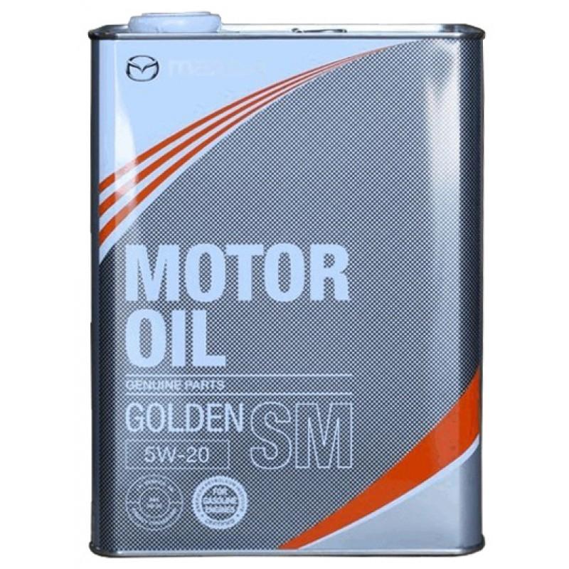 Моторное масло Mazda Golden ECO SM 5W-20 4л