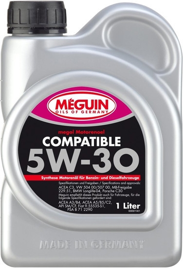Моторное масло Meguin Megol Compatible 5W-30 1л