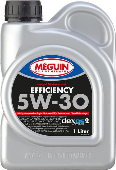 Моторное масло Meguin Megol Efficiency 5W-30 1л