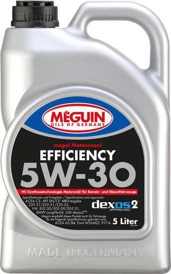 Моторное масло Meguin Megol Efficiency 5W-30 5л