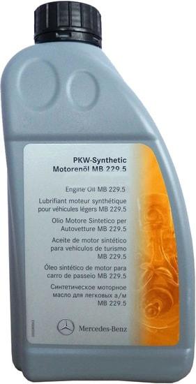 Моторное масло Mercedes MB 229.5 5W-40 1л