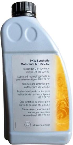 Моторное масло Mercedes MB 229.52 5W-30 1л