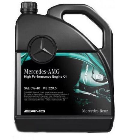 Моторное масло Mercedes MB 229.5 AMG 0W-40 5л