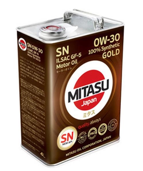 Моторное масло Mitasu MJ-103 0W-30 4л