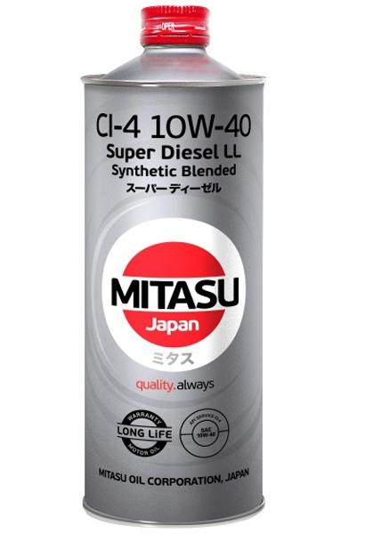 Моторное масло Mitasu MJ-222 10W-40 1л