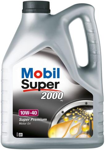 Моторное масло Mobil 10W-40 Super 2000 4л