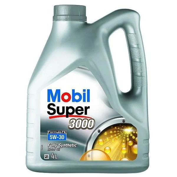 Моторное масло Mobil Super 3000 FE 5W-30 4л