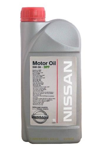Моторное масло Nissan DPF 5W-30 1л