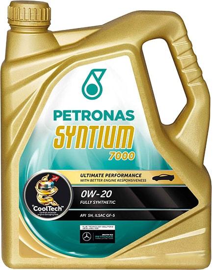 Моторное масло Petronas Syntium 7000 0W-20 5л