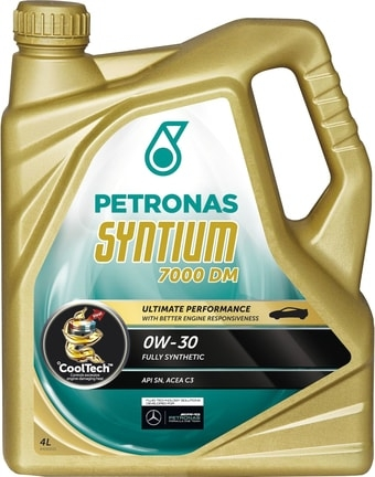 Моторное масло Petronas Syntium 7000 DM 0W-30 4л