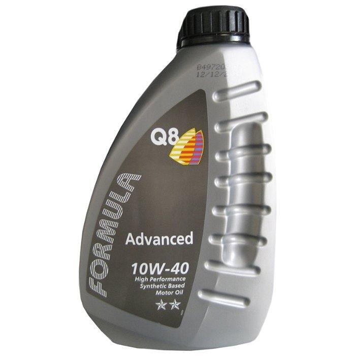 Моторное масло Q8 10W-40 Advanced 1л