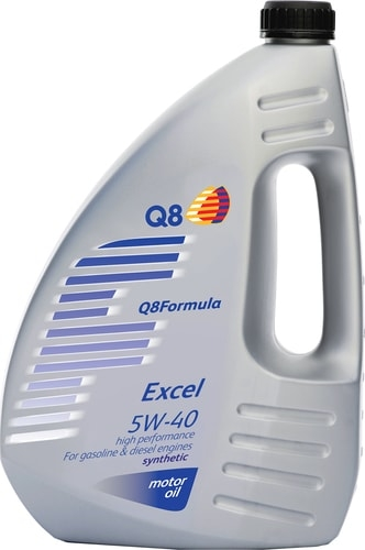 Моторное масло Q8 Formula EXCEL 5W-40 4л