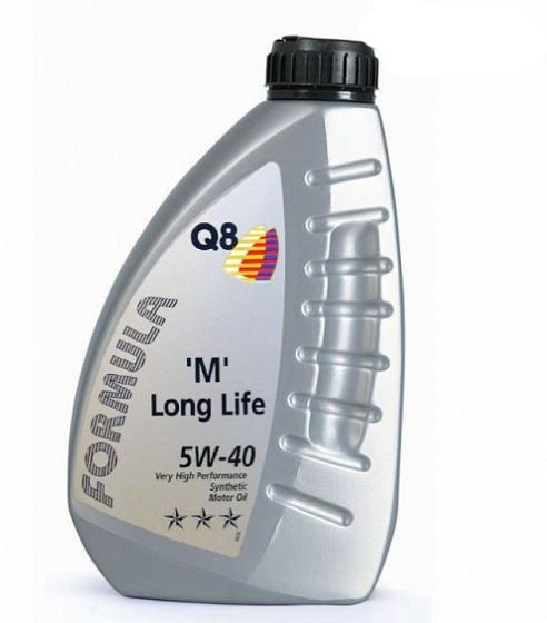 Моторное масло Q8 Formula M Long Life 5W-40 1л