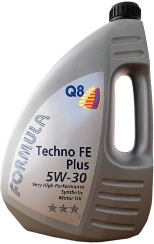 Моторное масло Q8 Formula Techno FE Plus 5W-30 4л
