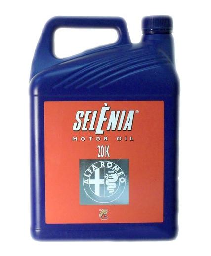 Моторное масло SELENIA 20K Alfa Romeo 10W-40 5л