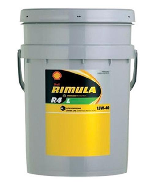 Моторное масло Shell Rimula R4L 15W-40 20л