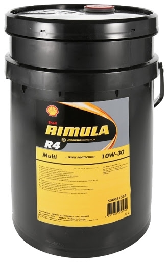 Моторное масло Shell Rimula R4 Multi 10W-30 20л