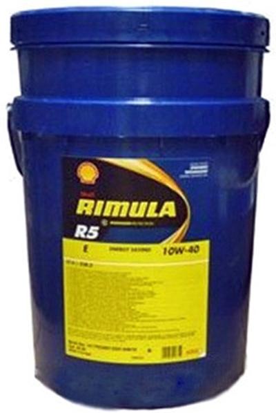 Моторное масло Shell Rimula R5 E 10W-40 20л