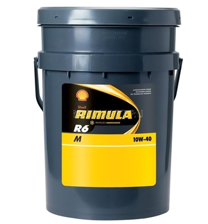 Моторное масло Shell Rimula R6 M 10W-40 20л