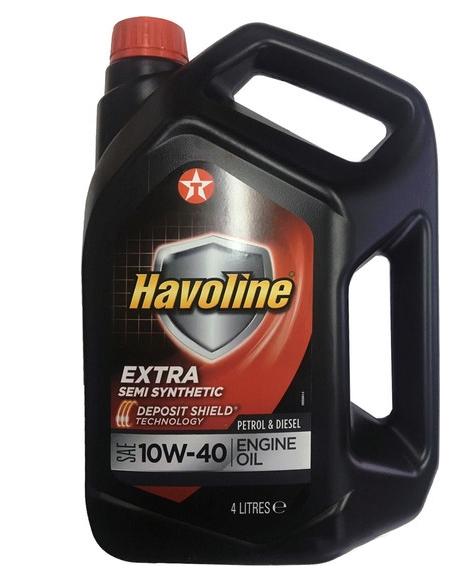 Моторное масло Texaco Havoline Extra 10W-40 4л