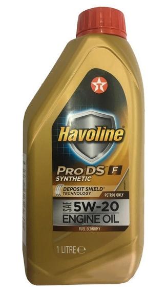 Моторное масло Texaco Havoline ProDS F 5W-20 1л