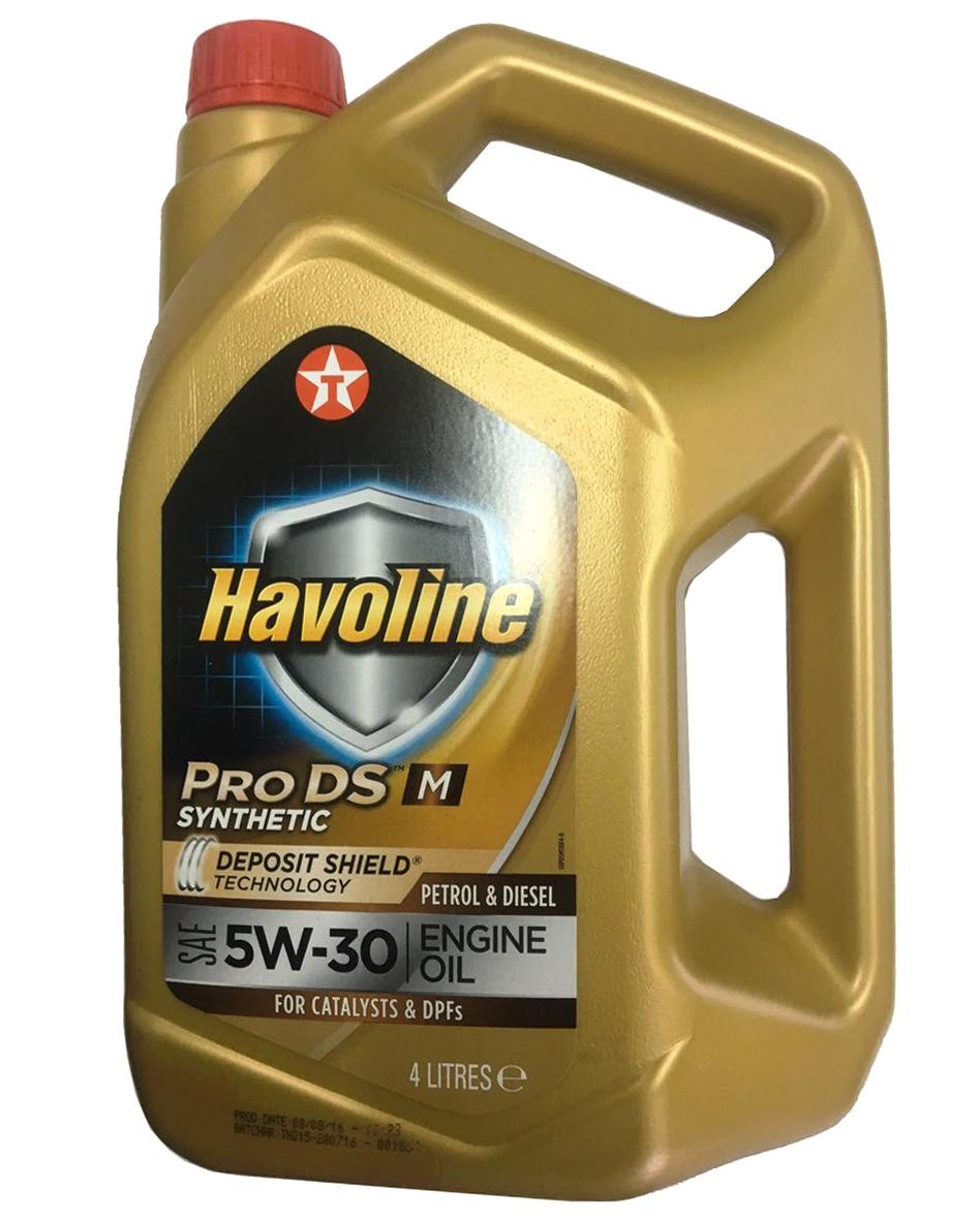 Моторное масло Texaco Havoline ProDS M 5W-30 4л