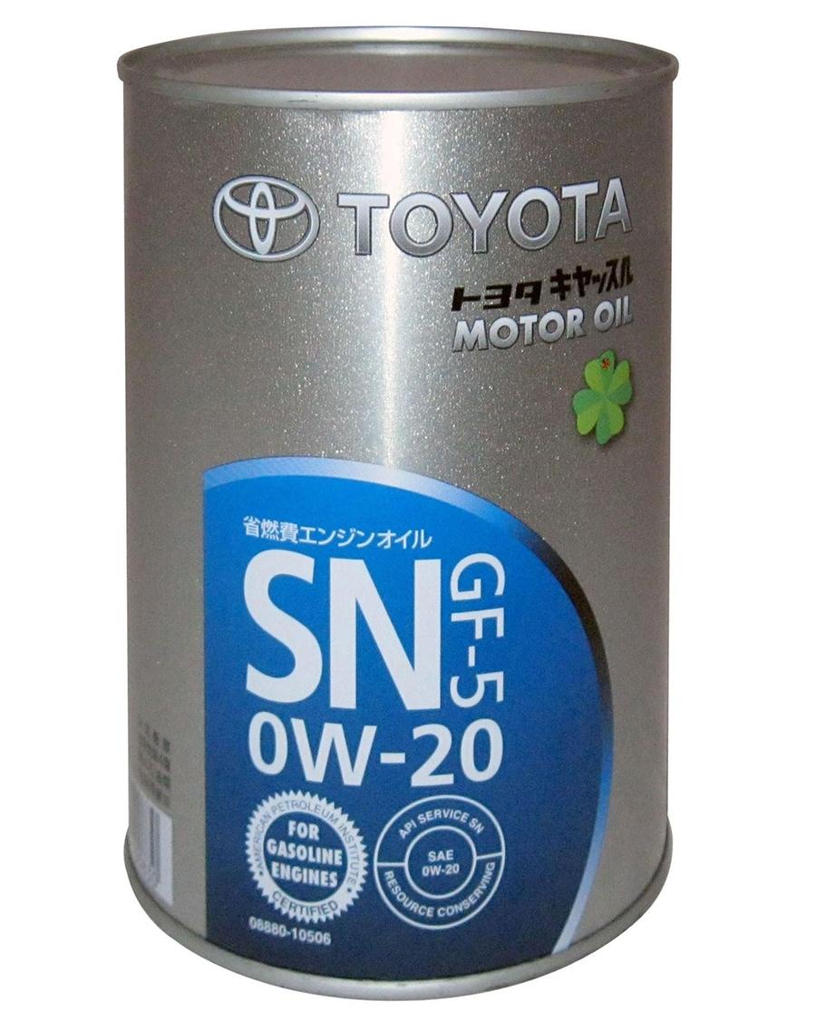 Моторное масло Toyota SN GF-5 0W-20 1л