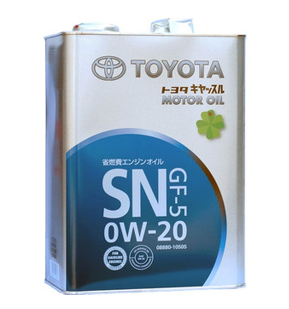 Моторное масло Toyota SN GF-5 0W-20 4л
