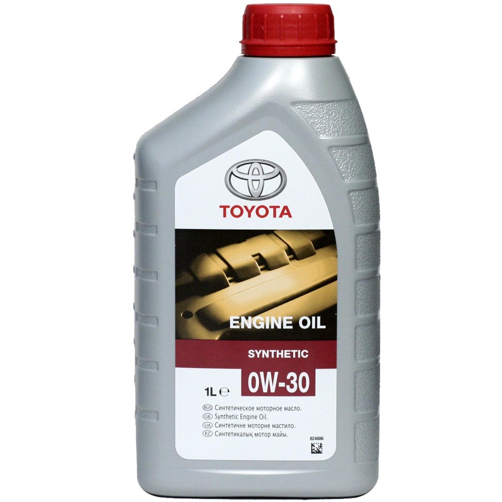 Моторное масло Toyota 0W-30 1л
