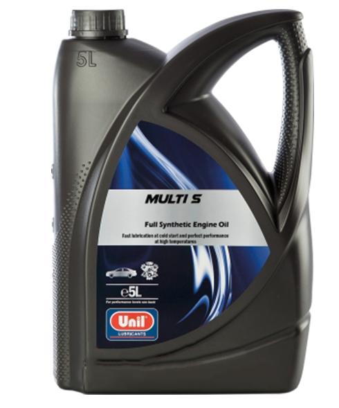 Моторное масло Unil Multi S 10W-40 5л