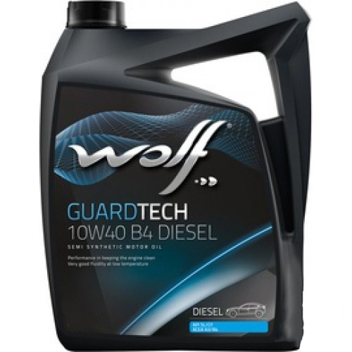 Моторное масло Guard Tech 10W-40 B4 Diesel 4л
