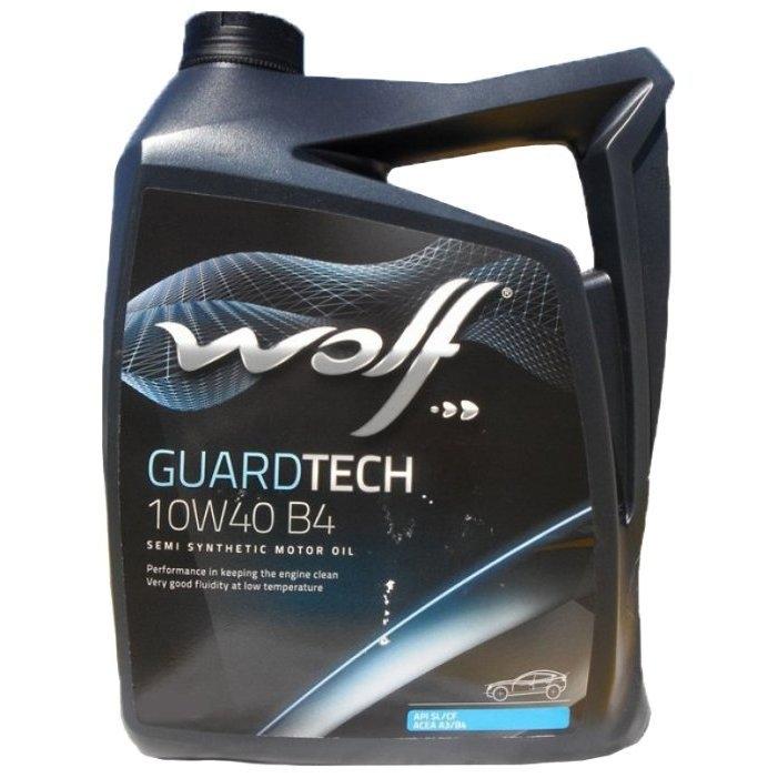 Моторное масло Wolf Guard Tech 10W-40 B4 5л