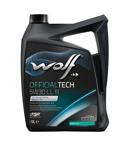 Моторное масло Wolf Official Tech 5W-30 LL III 5л